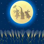 お月見の時お供えする意味と由来は?月にいるうさぎの意味は?